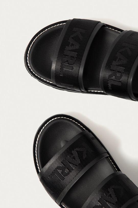 čierna Karl Lagerfeld - Sandále
