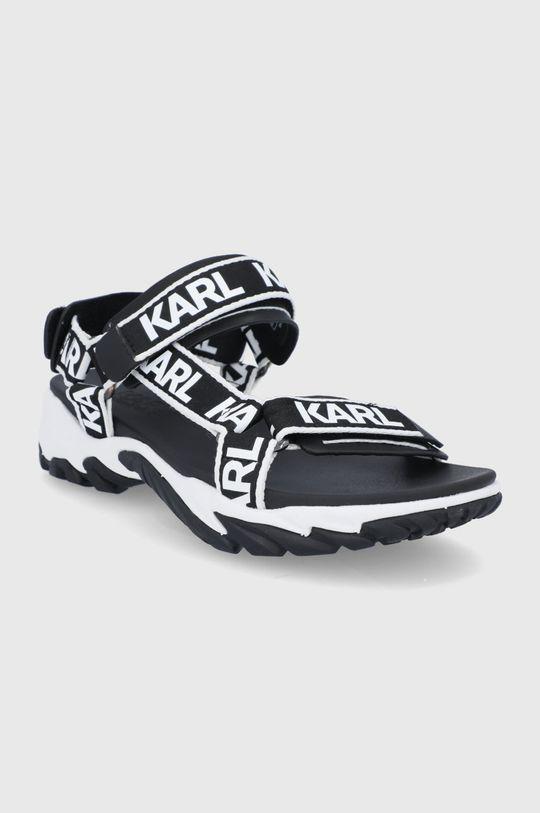 Karl Lagerfeld - Sandały czarny