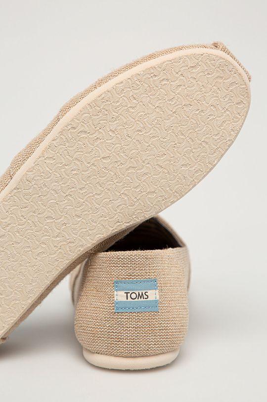 Toms - Espadrilky Classic  Zvršok: Textil Vnútro: Textil, Prírodná koža Podrážka: Syntetická látka, Textil