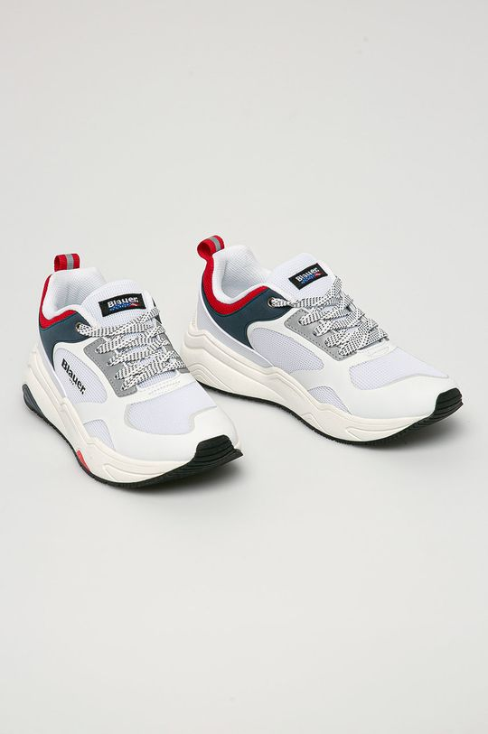 Blauer - Topánky biela