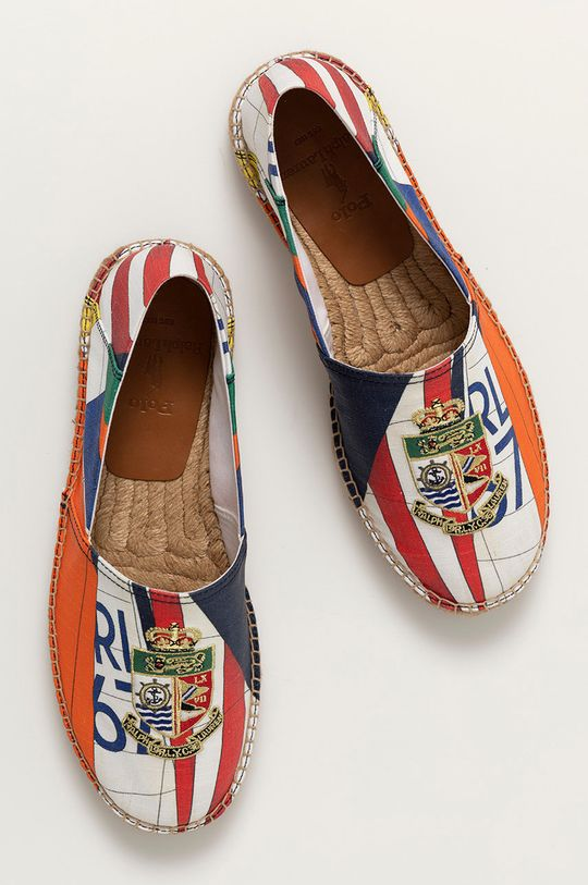 vícebarevná Polo Ralph Lauren - Espadrilky