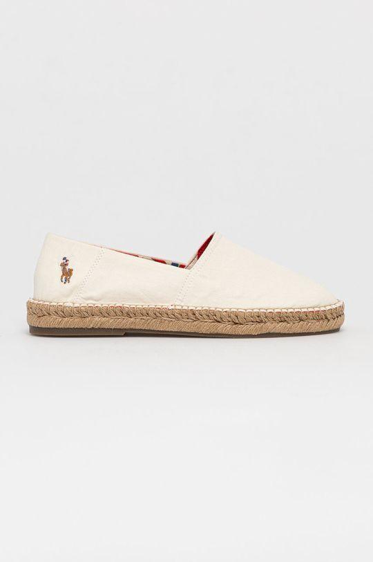 biały Polo Ralph Lauren - Espadryle Męski