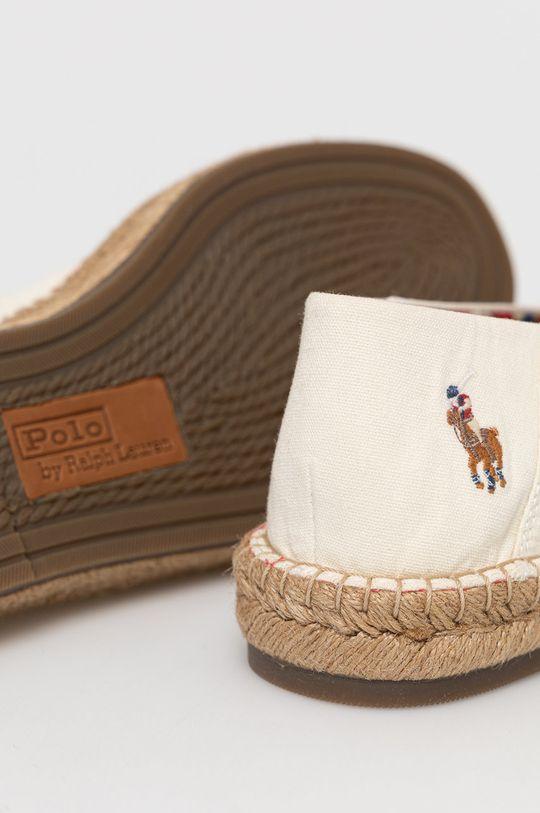 Polo Ralph Lauren - Espadryle Cholewka: Materiał tekstylny, Wnętrze: Materiał tekstylny, Podeszwa: Materiał syntetyczny, Skóra naturalna