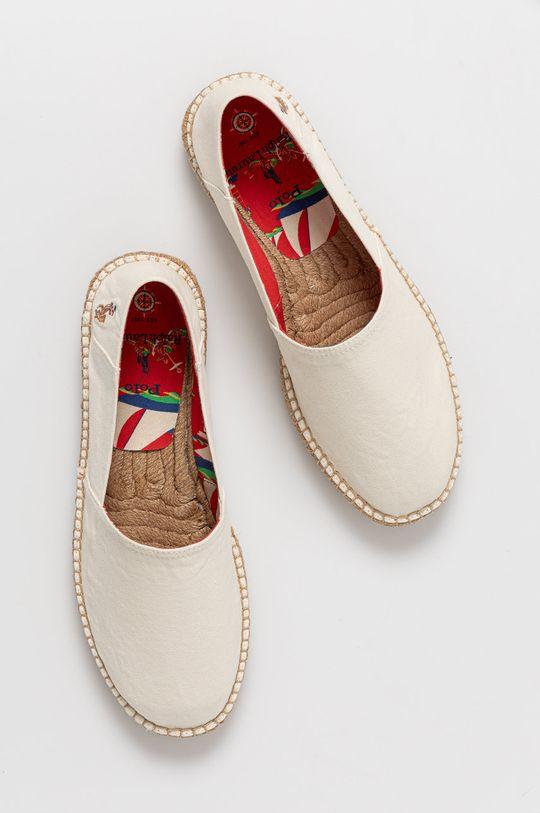 biały Polo Ralph Lauren - Espadryle
