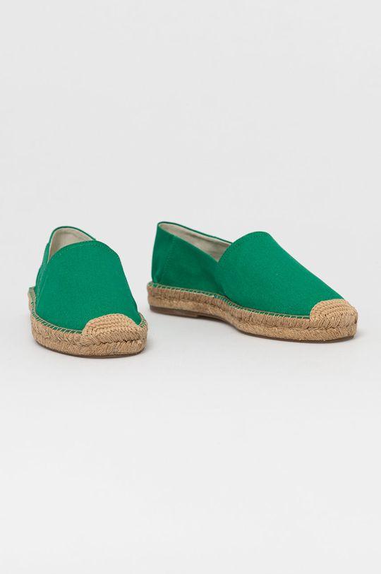 Polo Ralph Lauren - Espadrilky zelená