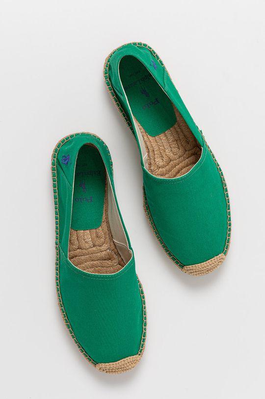 zelená Polo Ralph Lauren - Espadrilky
