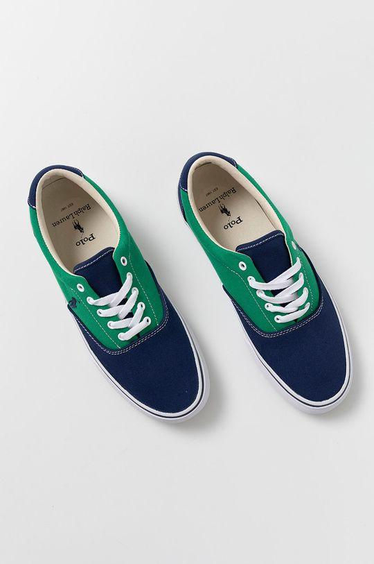 zielony Polo Ralph Lauren - Tenisówki