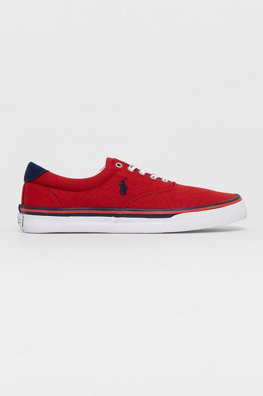 czerwony Polo Ralph Lauren - Tenisówki Męski