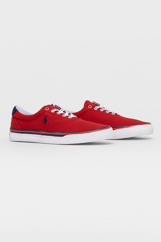 Polo Ralph Lauren - Tenisówki czerwony
