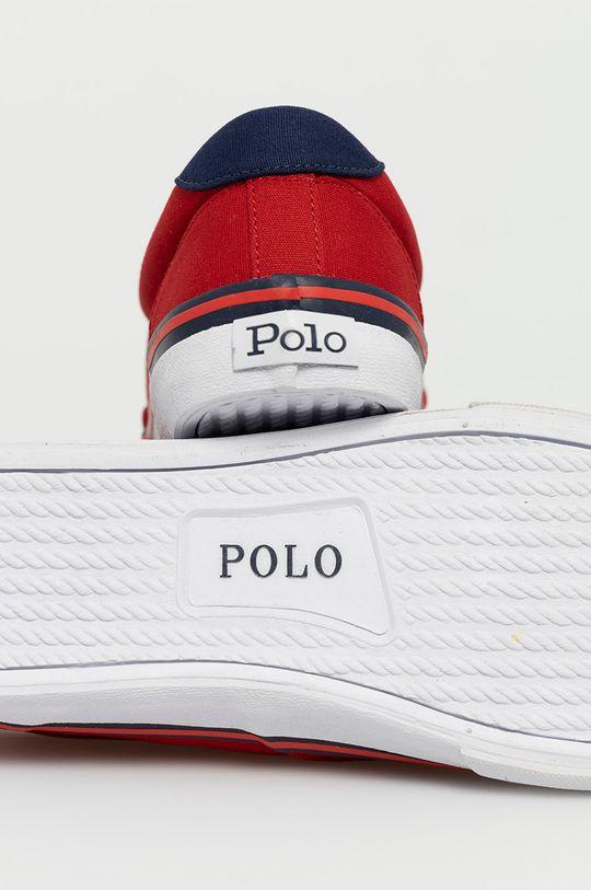 Polo Ralph Lauren - Tenisówki Cholewka: Materiał tekstylny, Wnętrze: Materiał tekstylny, Podeszwa: Materiał syntetyczny