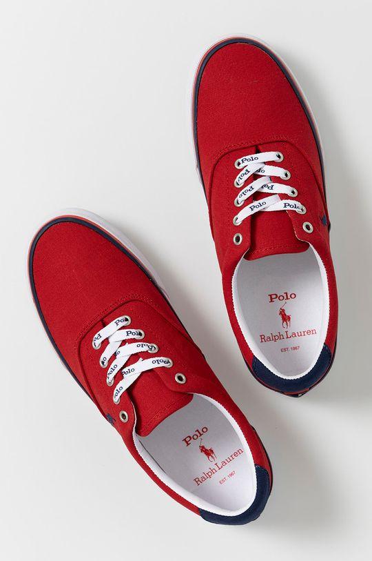 czerwony Polo Ralph Lauren - Tenisówki