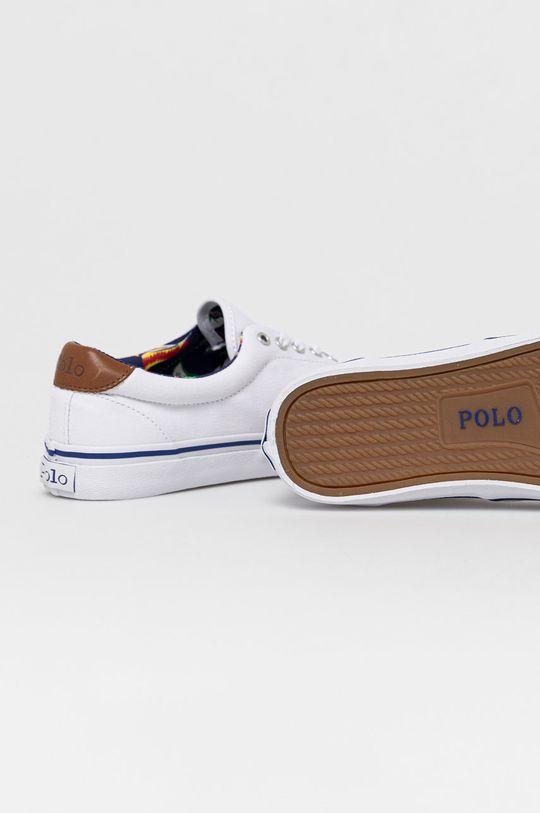Polo Ralph Lauren - Tenisówki Cholewka: Materiał tekstylny, Skóra naturalna, Podeszwa: Materiał syntetyczny, Wkładka: Materiał tekstylny