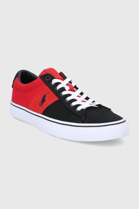 Polo Ralph Lauren - Topánky červená