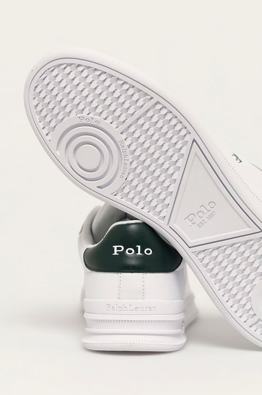 Polo Ralph Lauren - Buty skórzane Cholewka: Skóra naturalna, Wnętrze: Materiał tekstylny, Podeszwa: Materiał syntetyczny