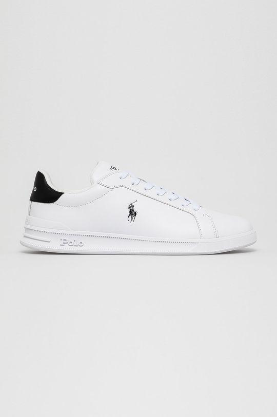 biela Polo Ralph Lauren - Kožená obuv Pánsky