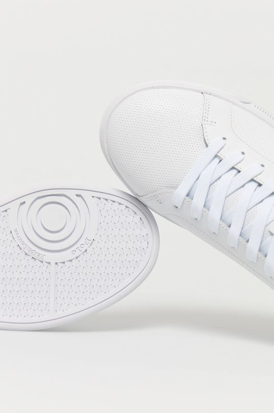 biela Polo Ralph Lauren - Kožená obuv