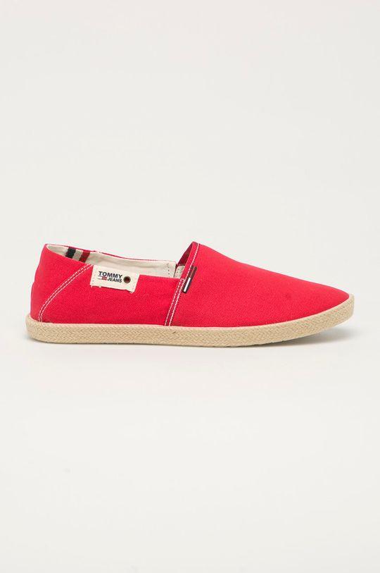 červená Tommy Jeans - Espadrilky Pánský