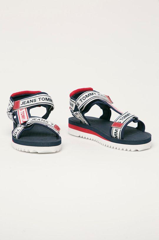 Tommy Jeans - Sandály námořnická modř