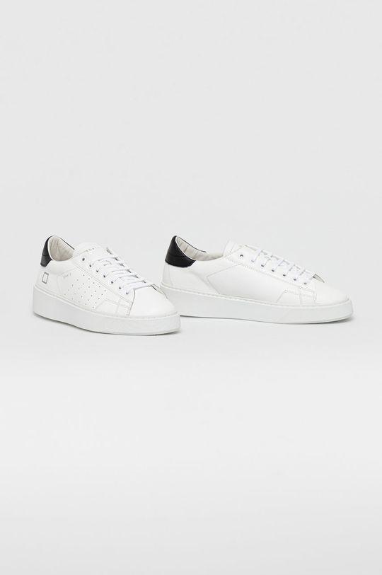 D.A.T.E. - Kožená obuv LEVANTE CALF biela
