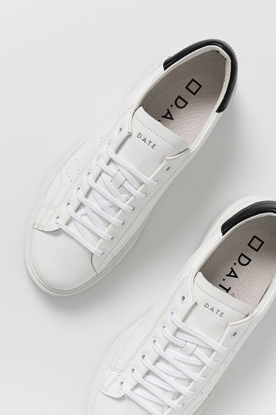 biela D.A.T.E. - Kožená obuv LEVANTE CALF