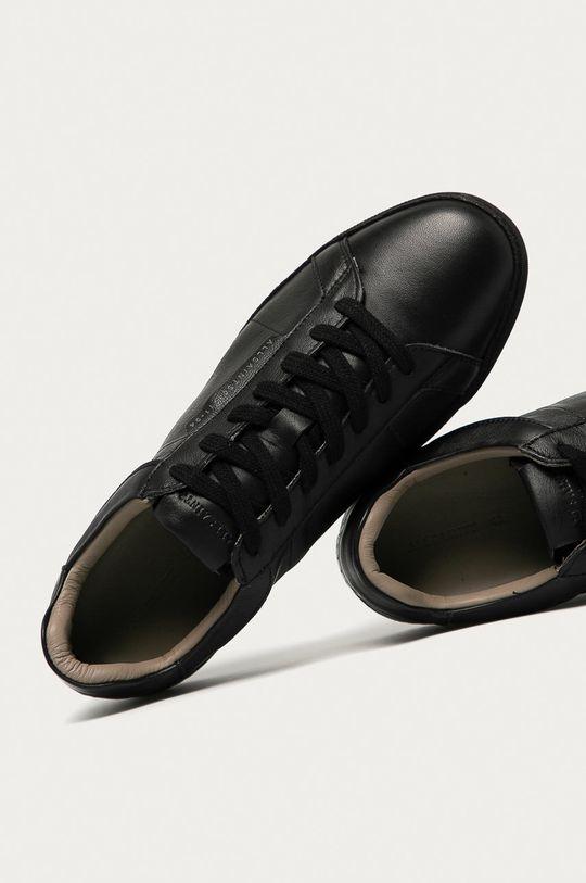 czarny AllSaints - Buty skórzane Sheer