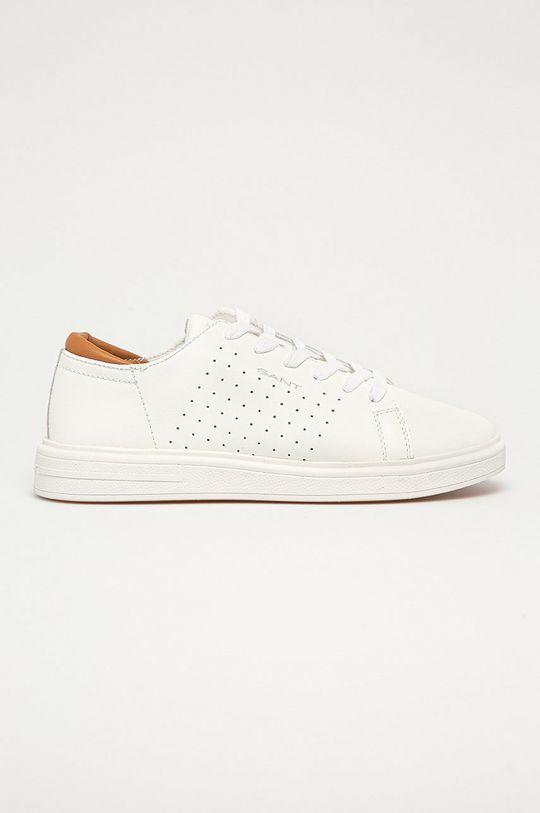 bílá Gant - Kožené boty Fairville Pánský