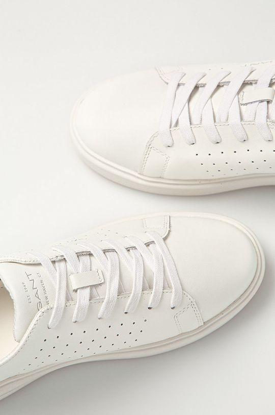 bílá Gant - Kožené boty Fairville