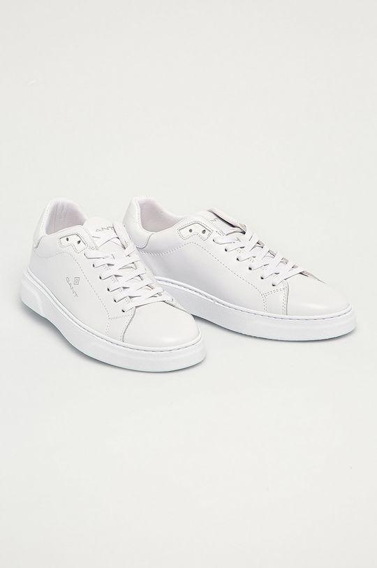 Gant - Kožená obuv Joree biela