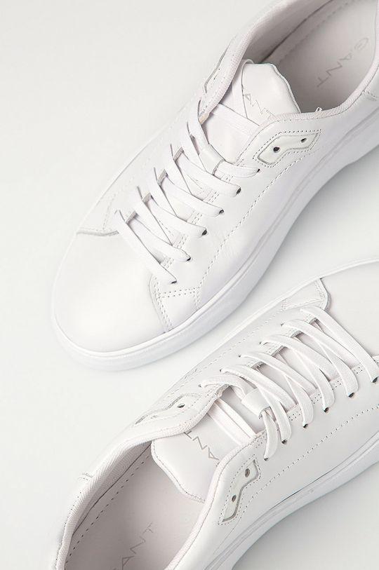 biela Gant - Kožená obuv Joree