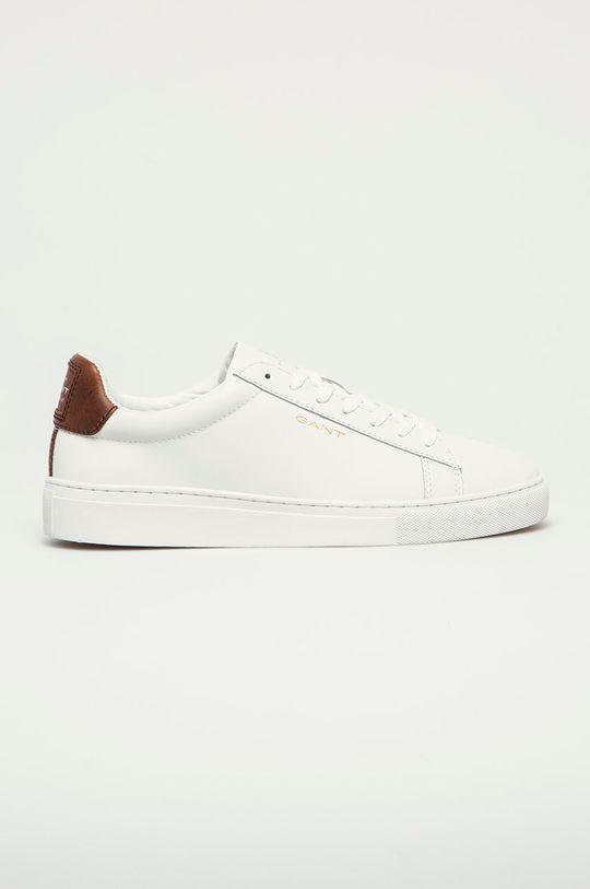 bílá Gant - Kožené boty Mc Julien Pánský