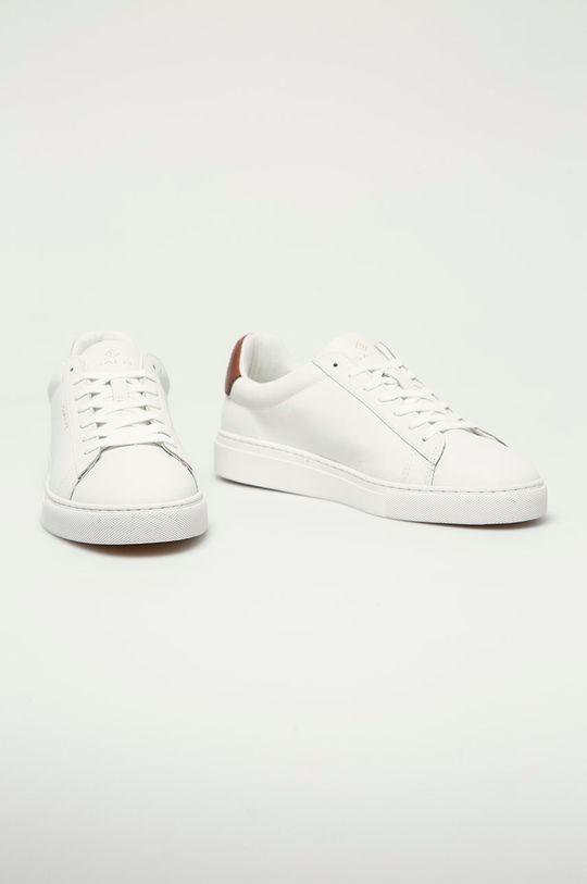 Gant - Kožené boty Mc Julien bílá
