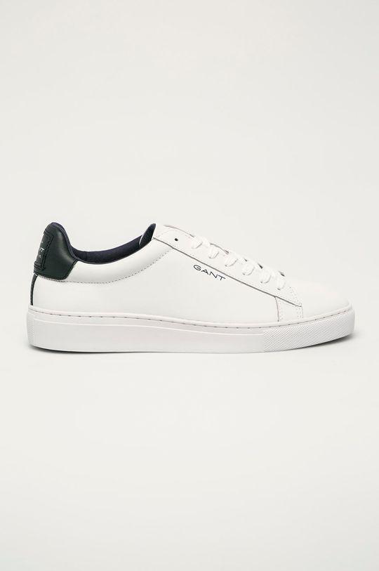 biela Gant - Kožená obuv Mc Julien Pánsky