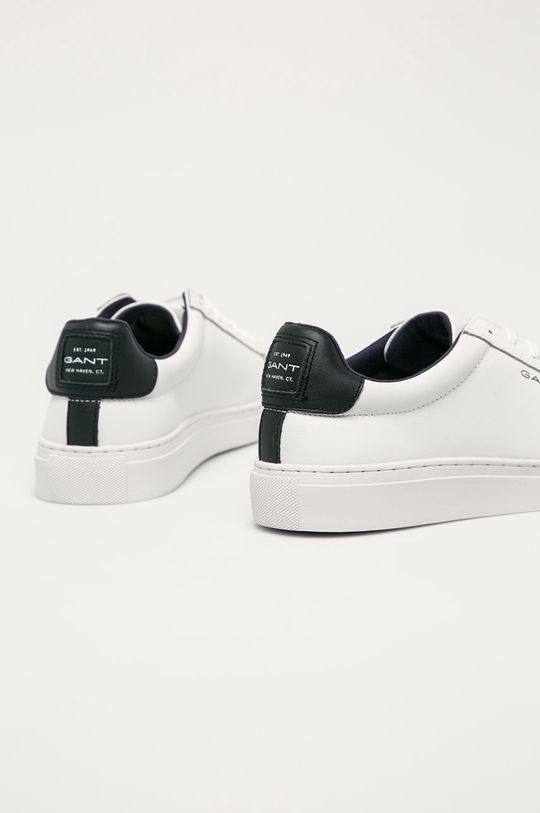 Gant - Kožená obuv Mc Julien  Zvršok: Prírodná koža Vnútro: Syntetická látka Podrážka: Syntetická látka