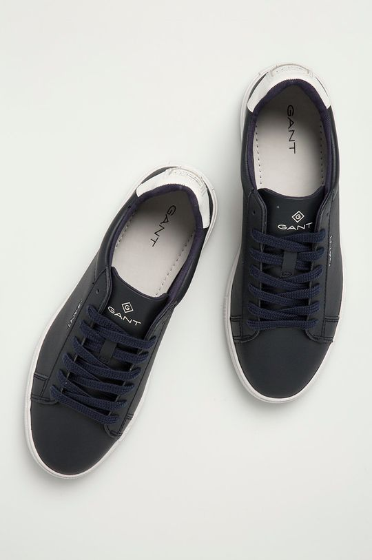 námořnická modř Gant - Kožené boty Mc Julien