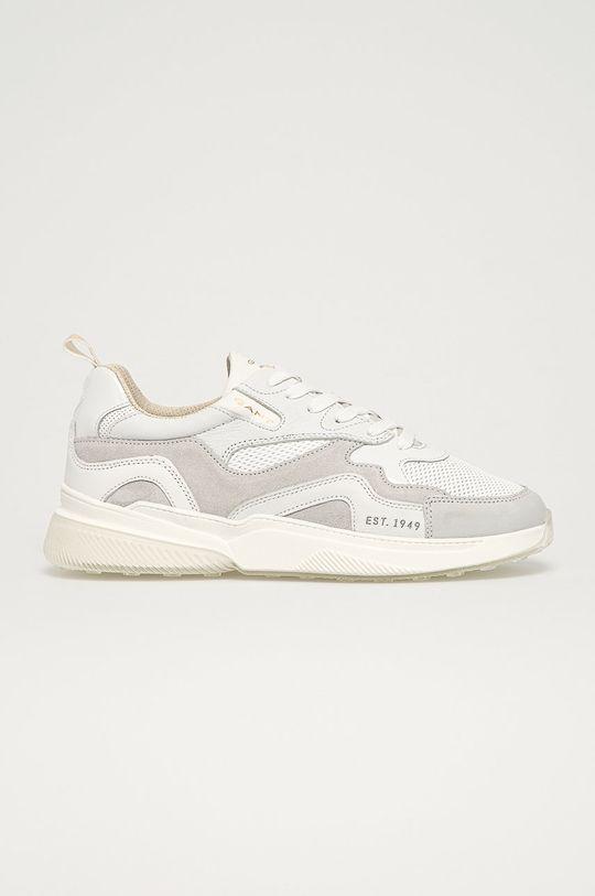 biela Gant - Kožená obuv Villagate Pánsky