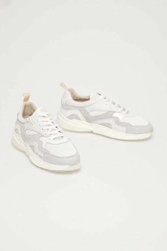 Gant - Kožená obuv Villagate biela