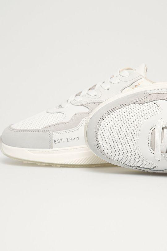 biela Gant - Kožená obuv Villagate