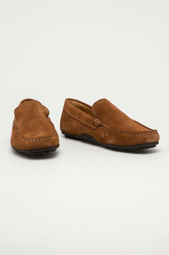 Gant - Mokasyny zamszowe Mc Bay brązowy
