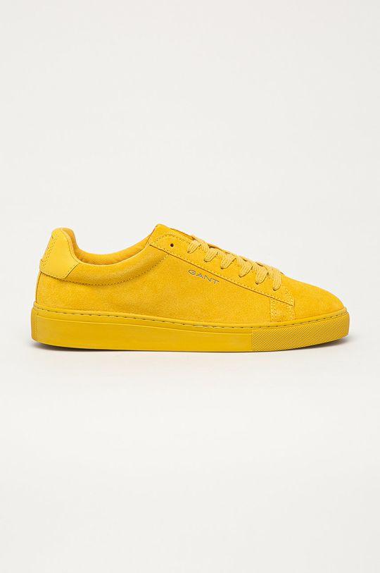 žlutá Gant - Kožené boty Mc Julien Pánský
