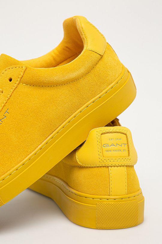 Gant - Kožené boty Mc Julien  Svršek: Přírodní kůže Vnitřek: Textilní materiál, Přírodní kůže Podrážka: Umělá hmota