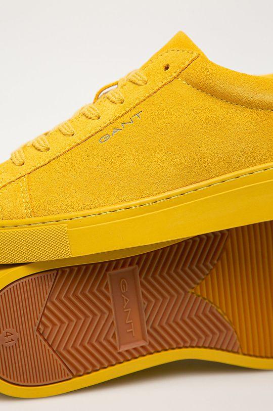 žlutá Gant - Kožené boty Mc Julien