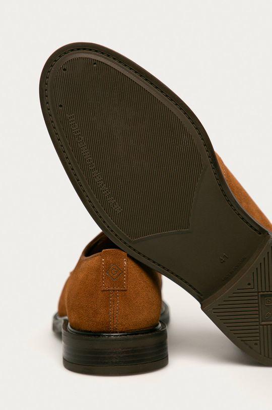 Gant - Semišové poltopánky St Akron  Zvršok: Semišová koža Vnútro: Textil, Prírodná koža Podrážka: Syntetická látka