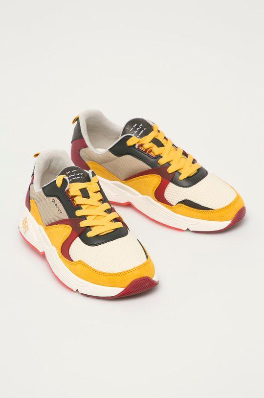 Gant - Topánky Nicewill žltá