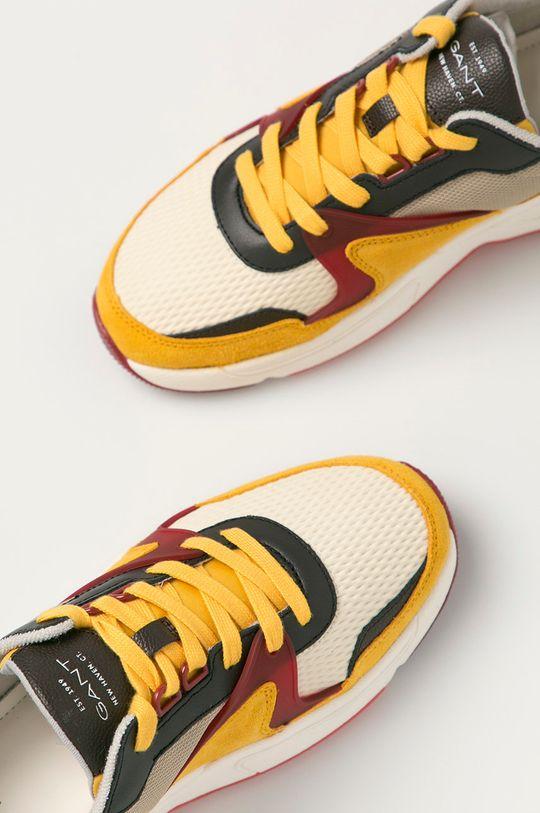 žltá Gant - Topánky Nicewill