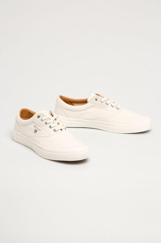 Gant - Tenisky Sundale biela