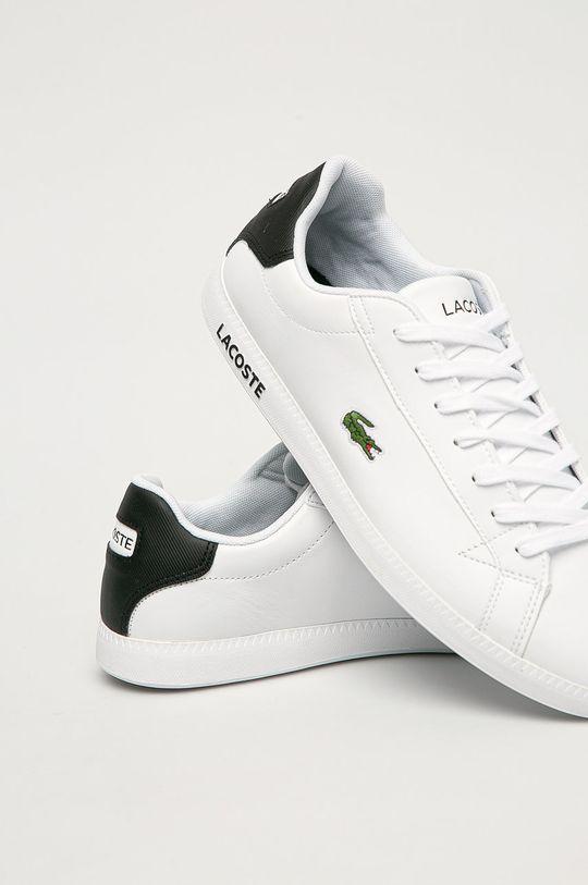 Lacoste - Kožené boty  Svršek: Přírodní kůže Vnitřek: Textilní materiál Podrážka: Umělá hmota