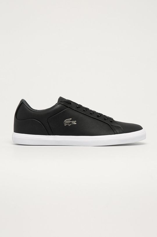 černá Lacoste - Kožené boty Pánský