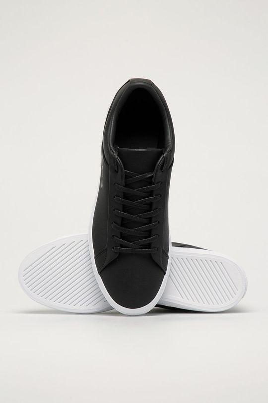 černá Lacoste - Kožené boty