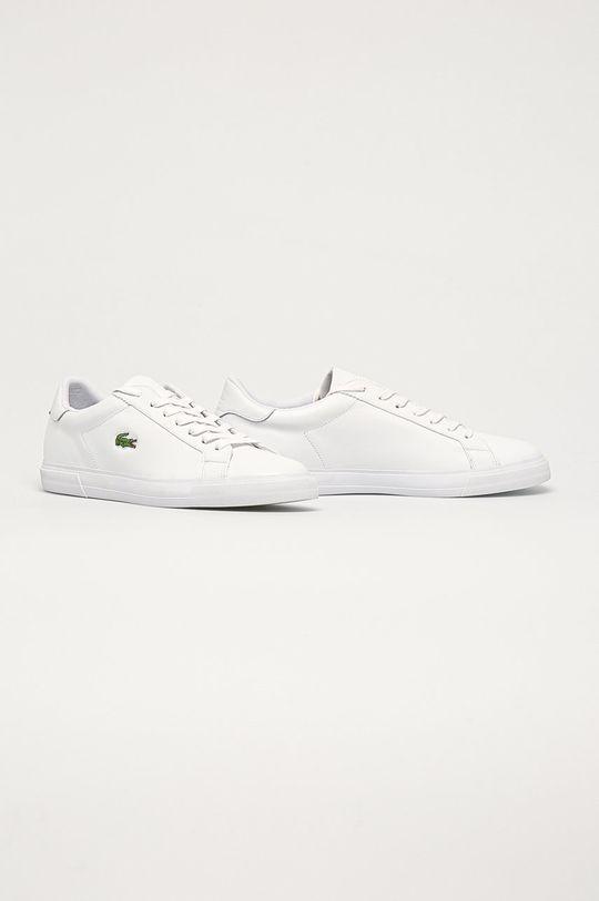 Lacoste - Topánky Lerond Plus biela