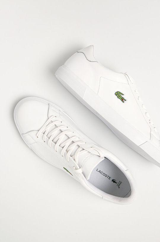 biela Lacoste - Topánky Lerond Plus